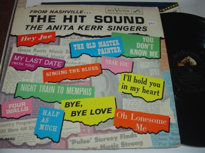 ANITA KERR - HIT SOUND NASHVILLE - RCA { PM 235