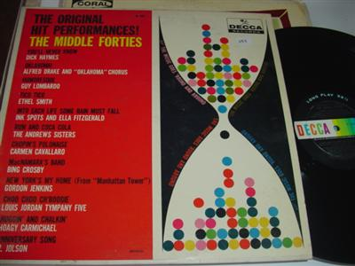 VARIOUS ARTISTS - HITS MIDDLE FORTIES - DECCA { PM 237