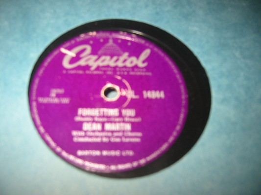 DEAN MARTIN - FORGETTING YOU - CAPITOL - 78 RPM