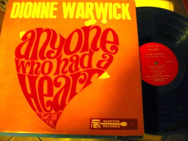 DIONNE WARWICK - ANYONE WHO HAD HEART - SCEPTER 1270