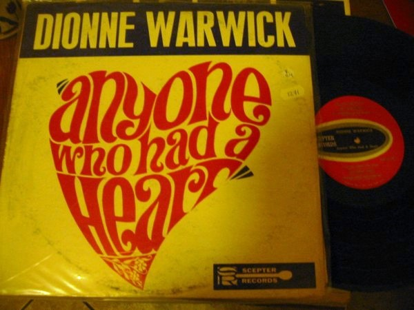 DIONNE WARWICK - ANYONE WHO HAD HEART - SCEPTER 1271
