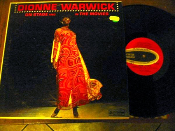 DIONNE WARWICK - ON STAGE & MOVIES - SCEPTER 1280