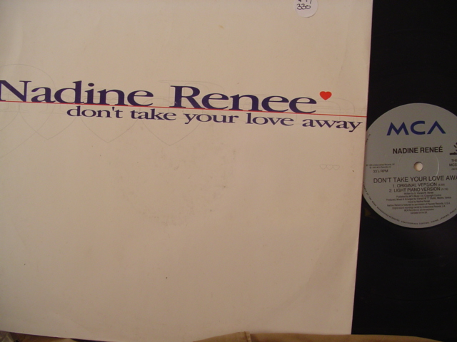 Nadine Renée - Don't Take Your Love Away - 330