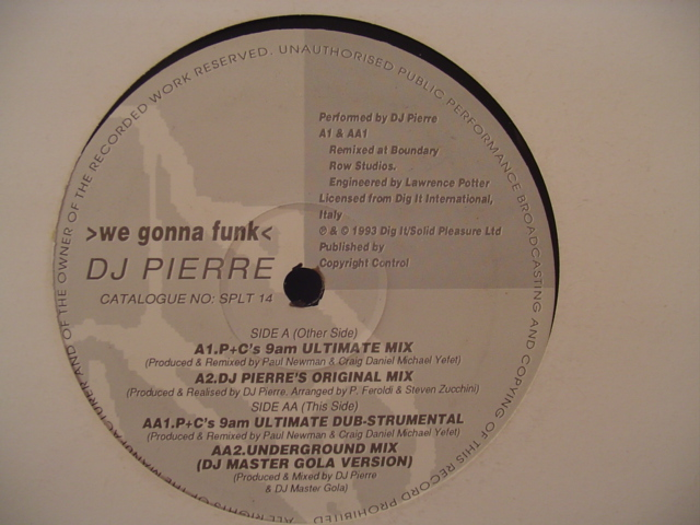DJ Pierre* - We Gonna Funk - 4 MIXES - 325