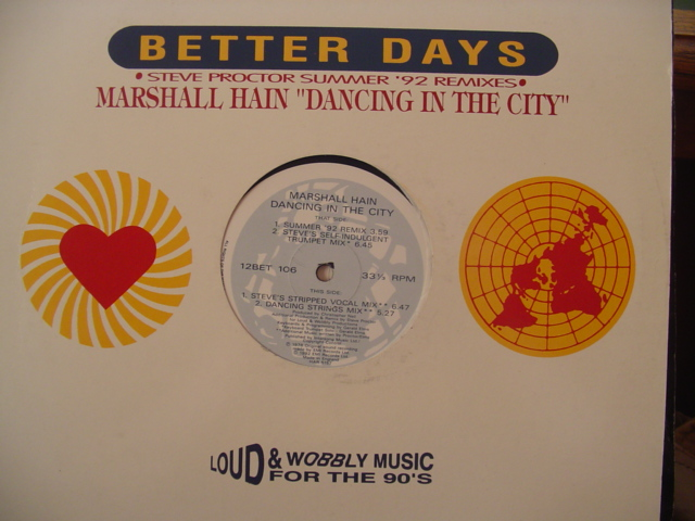 Marshall Hain - Dancing In The City - 332