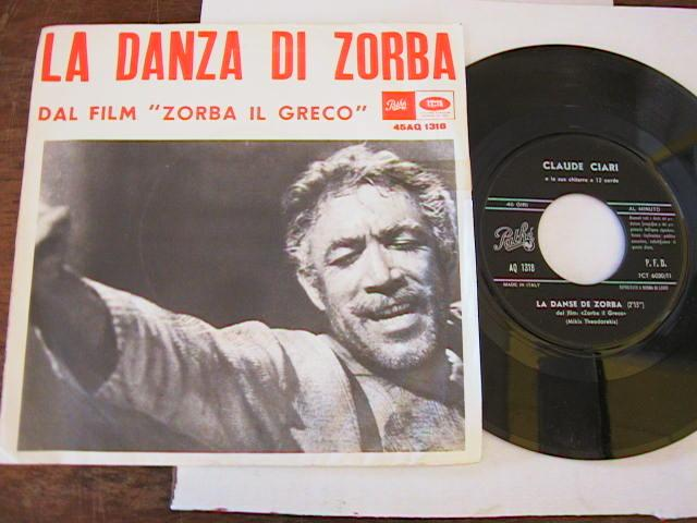 MIKIS THEODORAKIS - ZORBA IL GRECO - PATHE { 783 - Click Image to Close