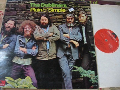 THE DUBLINERS - PLAIN & SIMPLE - 1973 POLYDOR