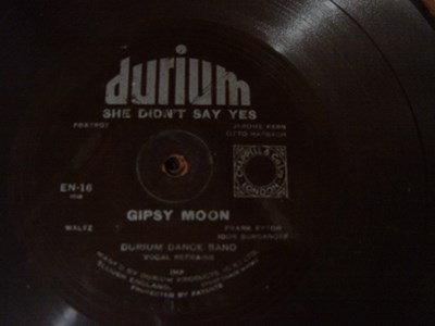Durium Dance Band - Gipsy Moon - Durium EN 16 Flexidisc