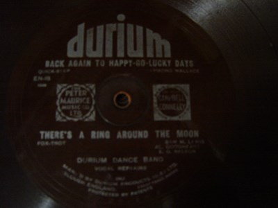 Durium Dance Band - Ring around Moon - Durium EN 18 Flexidisc