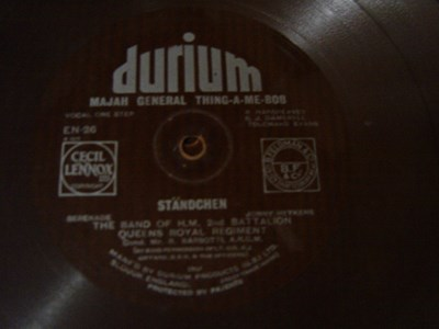 Band of HM 2nd Battalion - Standchen - Durium EN 26 Flexidisc