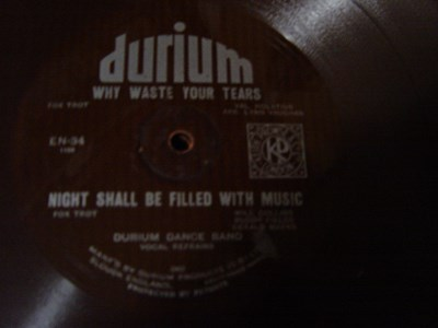 Durium Dance Band - Why waste tears - Durium EN 34 Flexidisc