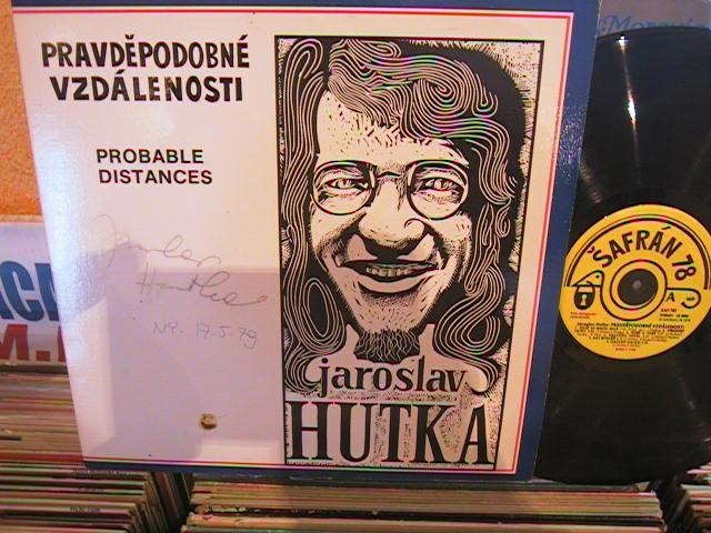 CZECH SONGS - JAROSLAV HUTKA SIGNED - SAFRAN