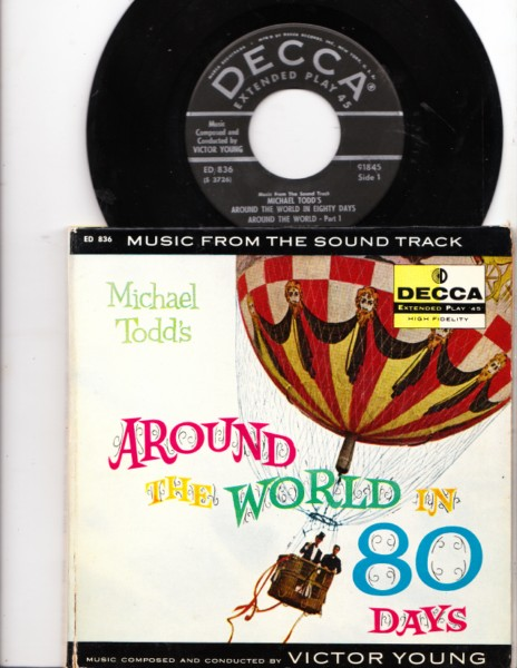 AROUND THE WORLD IN 80 DAYS - Niven - Decca EP