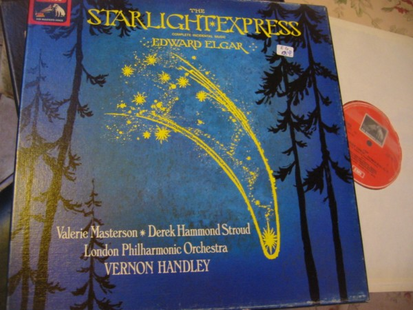 ELGAR - STARLIGHT EXPRESS - HANDLEY - EMI { R 428