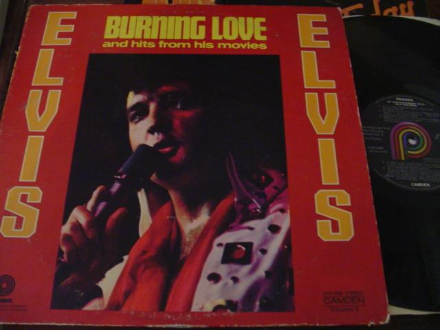 ELVIS PRESLEY - BURNING LOVE - RCA PICKWICK AF 1530