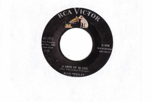 ELVIS PRESLEY - ITS NOW OR NEVER - RCA # 2400