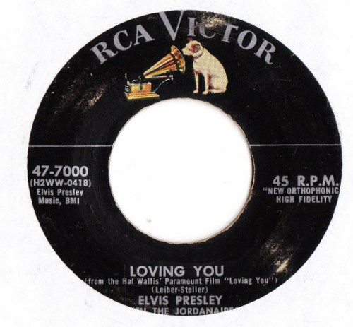 ELVIS PRESLEY - LOVING YOU - RCA # 2402