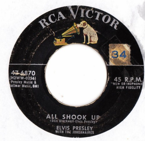 ELVIS PRESLEY - ALL SHOOK UP - RCA # 2403 2405