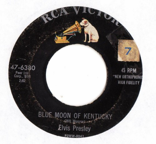 ELVIS PRESLEY - THATS ALL RIGHT - RCA # 2411
