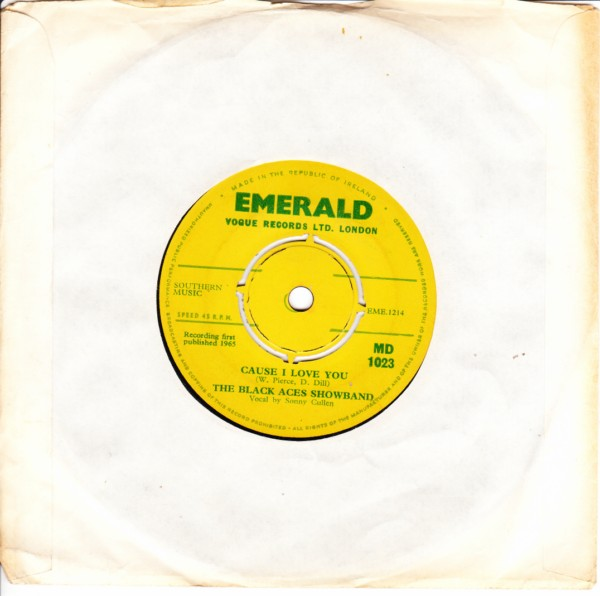 Emerald MD.1023 - The Black Aces Showband 1965