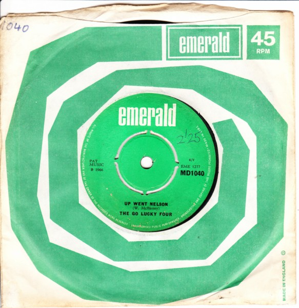 Emerald MD.1040 - THE GO LUCKY FOUR - OFF TO DUBLIN