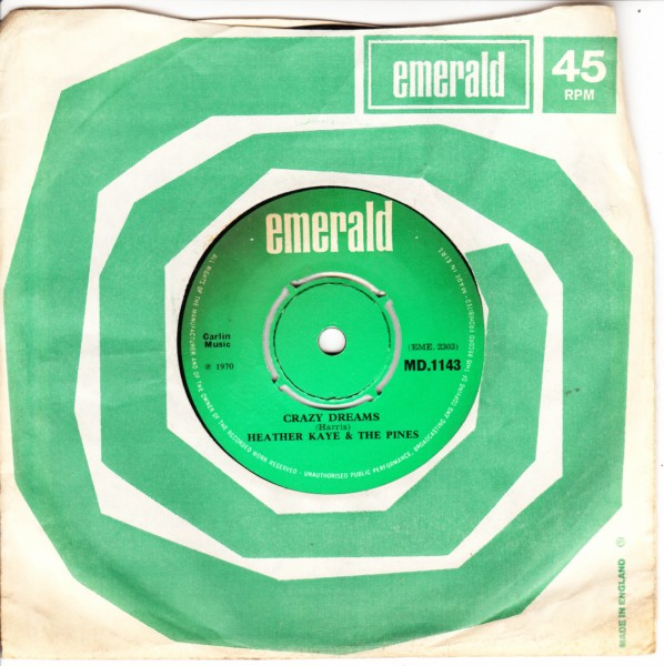 Emerald MD.1143 - Heather Kaye & The Pines - 1970