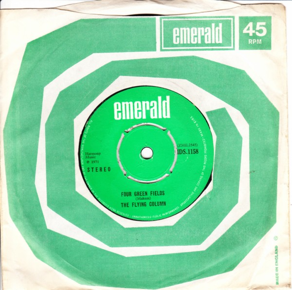 Emerald MD.1158 - THE FLYING COLUM - FOUR GREEN FIELDS