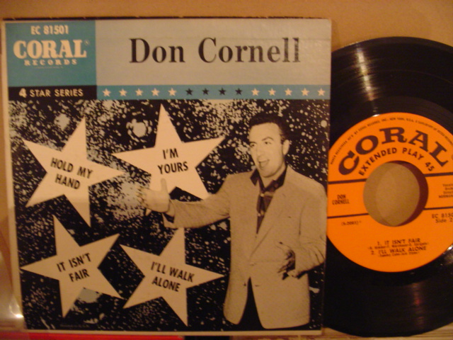 DON CORNELL - CORAL EP