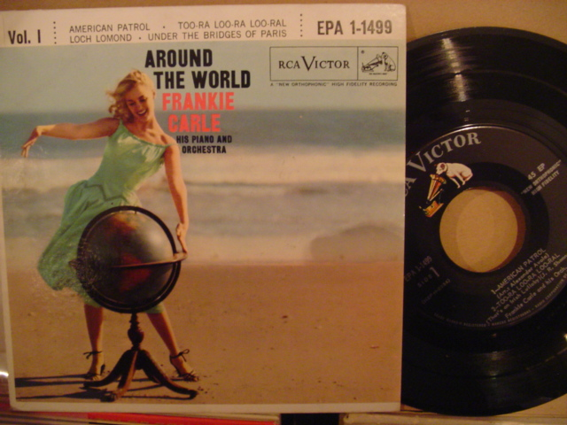 FRANKIE CARLE - AROUND THE WORLD - RCA