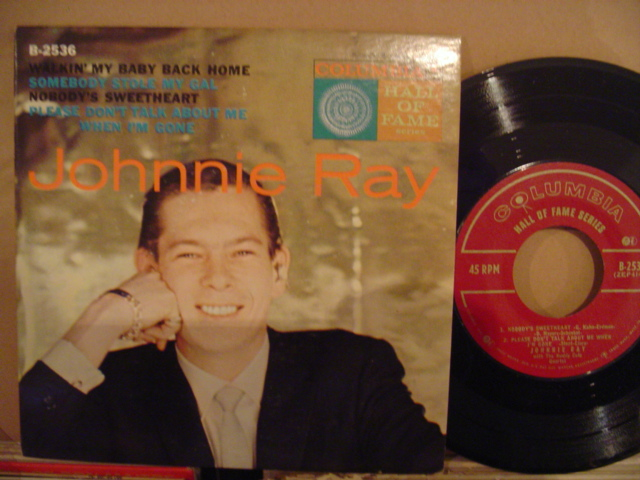JOHNNY RAY - WALKING MY BABY - COLUMBIA