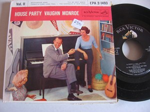 VAUGHN MONROE - HOUSE PARTY - RCA EP