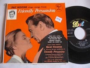 Pat Boone - FRIENDLY PERSUASION - DOT EP