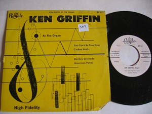 KEN GRIFFIN - AT THE ORGAN - ROYALE EP