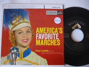 PAUL LAVALLE - AMERICAS FAVOURITE MARCHES - 2 DISC RCA