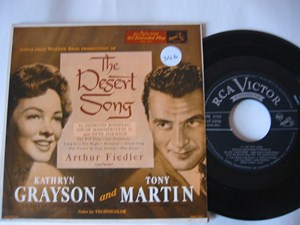 THE DESERT SONG - Grayson & Martin - 2 DISC RCA EP OST