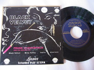 FRANK CHACKSFIELD - BLACK VELVET - LONDON ep
