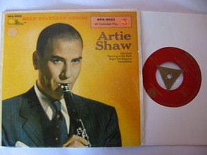 ARTIE SHAW - Star Dust - RCA GERMANY EP