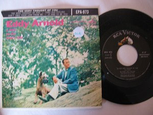 EDDY ARNOLD - LITTLE ON LONLEY SIDE - RCA EP