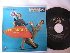 VARIOUS ARTISTS - JITTERBUG OR LINDY - RCA EP