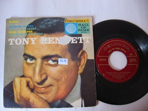 TONY BENNETT - HALL OF FAME - COLUMBIA