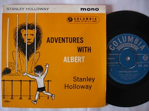 Stanley Holloway - Adventures with Albert - Columbia UK