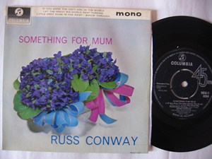 Russ Conway Something For Mum - Columbia Irish EP