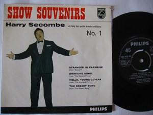 Harry Secombe - Show Souvenirs No 1 - Philips EP