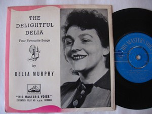Delia Murphy - The Delightful Delia - HMV IRISH EP