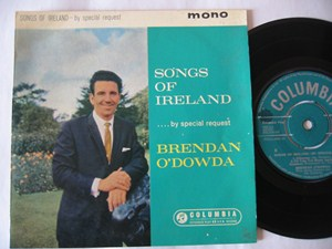 Brendan O'Dowda - Songs of Ireland - Columbia Irish EP