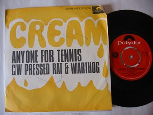 Cream - Anyone for Tennis - Polydor South Africa P/S
