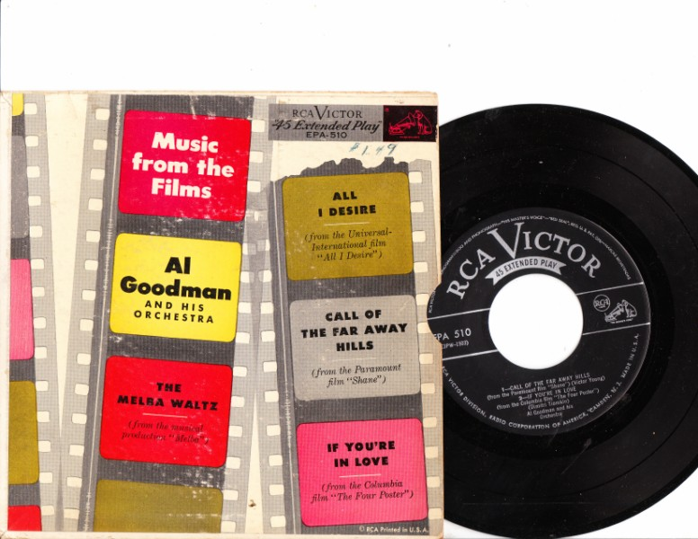 AL GOODMAN - FILM MUSIC - RCA EPA-510 72