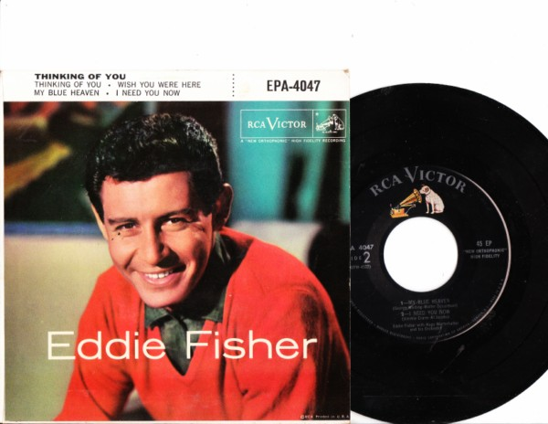 EDDIE FISHER - Thinking of You - RCA EPA-4047