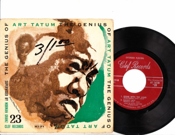 ART TATUM - THE GENIUS - CLEFF EPC 359 # 117