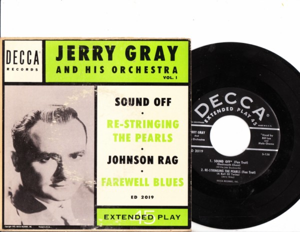 Jerry Gray - Sound Off - Decca EP 2019